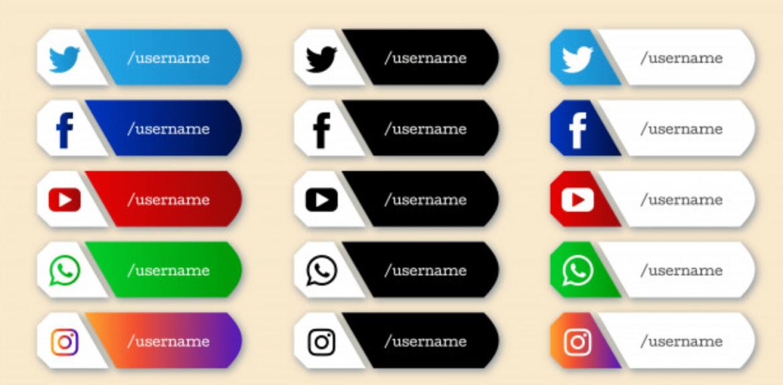 Social Media Short Icon Animations
